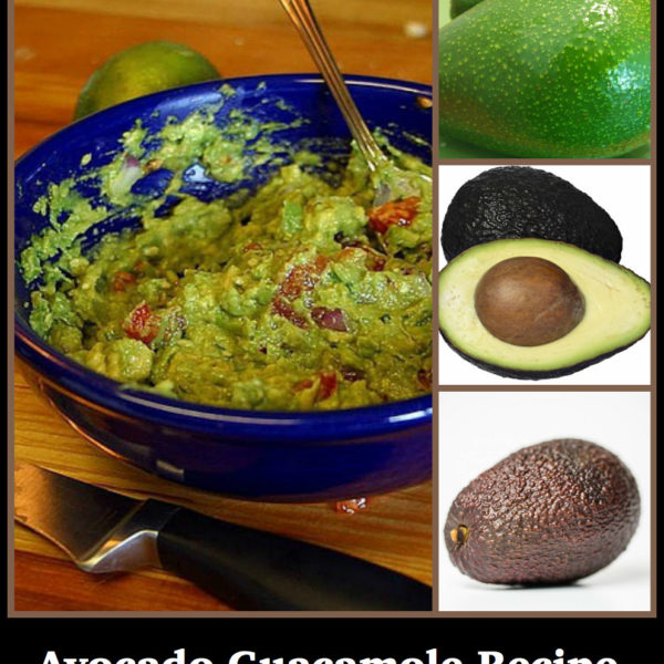 One Avocado Guacamole Recipe