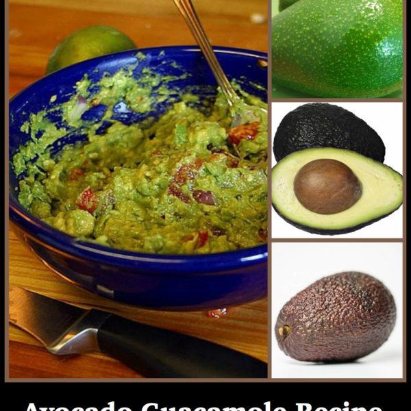One Avocado Guacamole Recipe