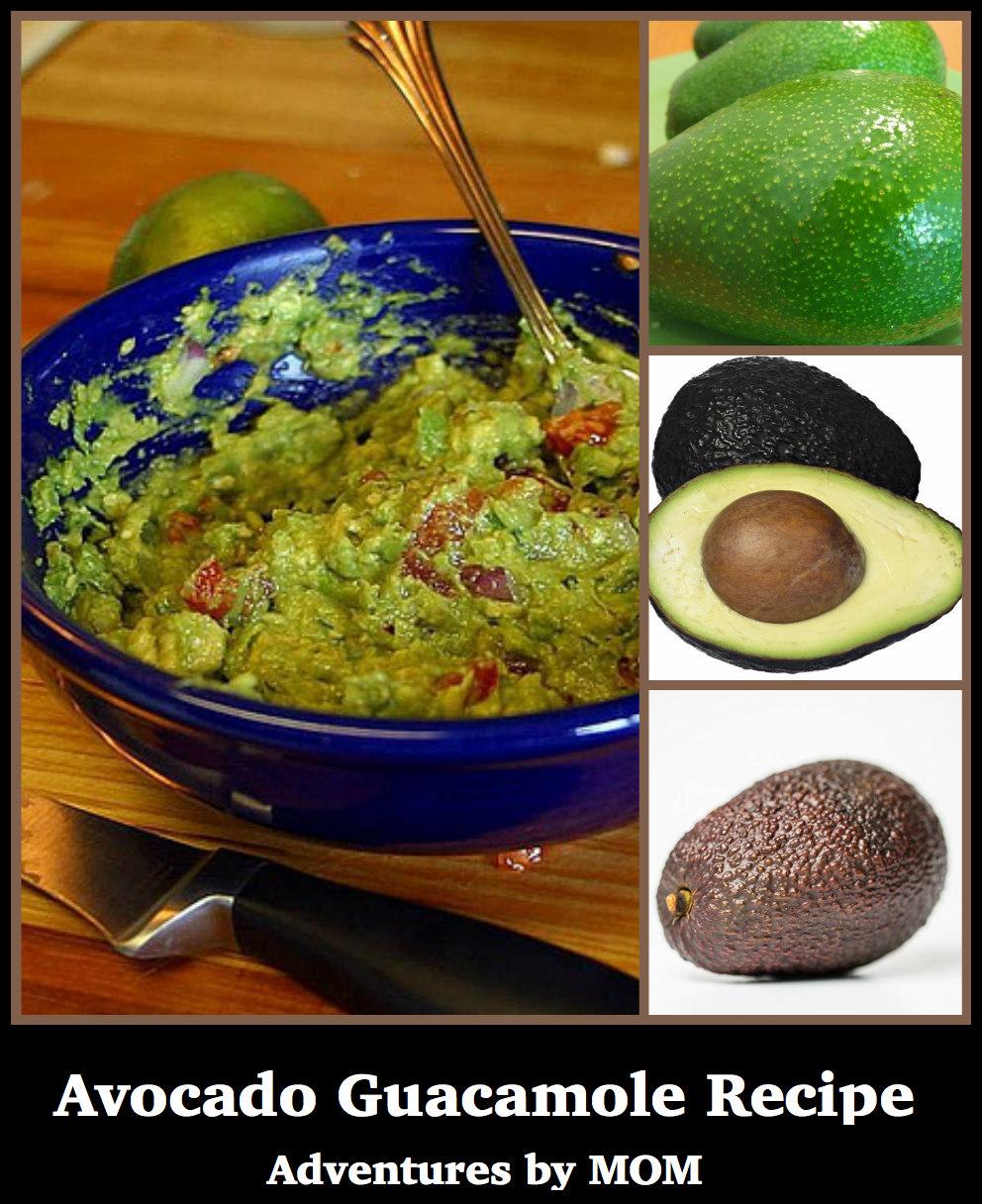 guacamole recipe with avocado