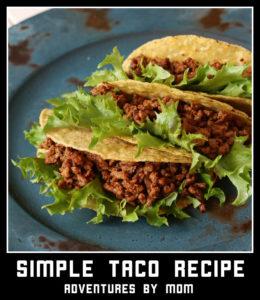 simple taco recipe