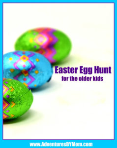 Easter Egg Hunt for Older Kids