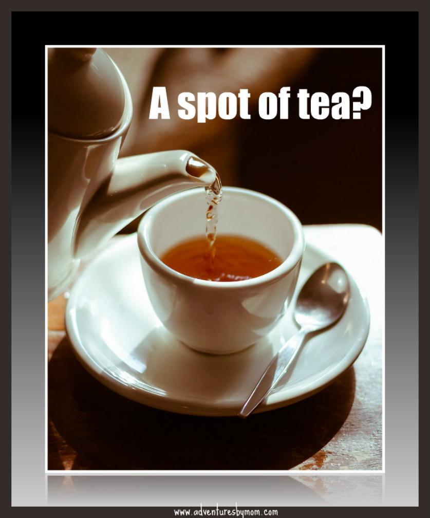 a spot of tea