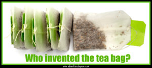 tea bags for making a spot of tea