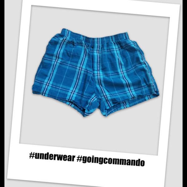 To wear underwear, or not to wear underwear? That is the question.
