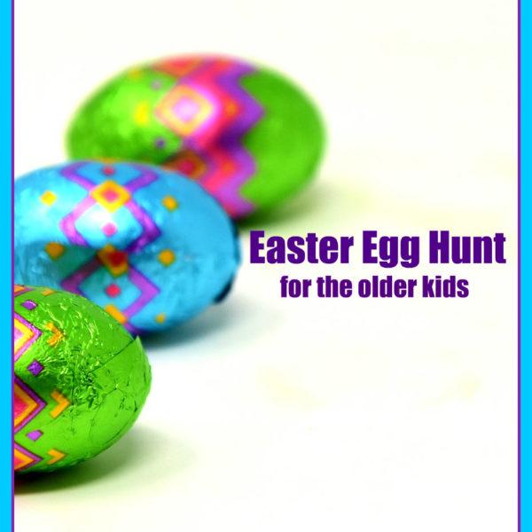 Easter Egg Hunt for Older Kids